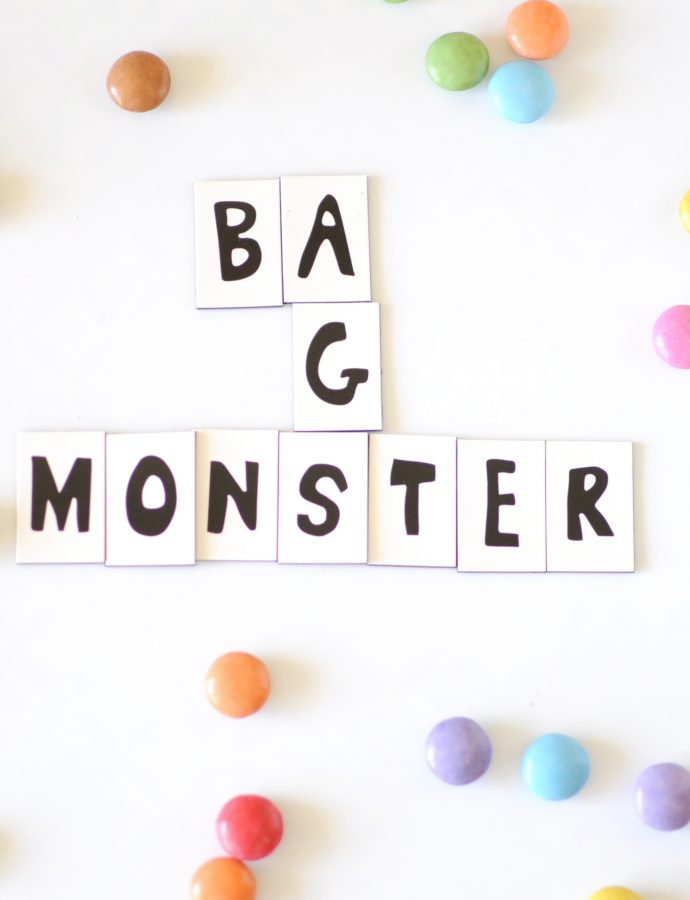 Diy – Monster Partybags
