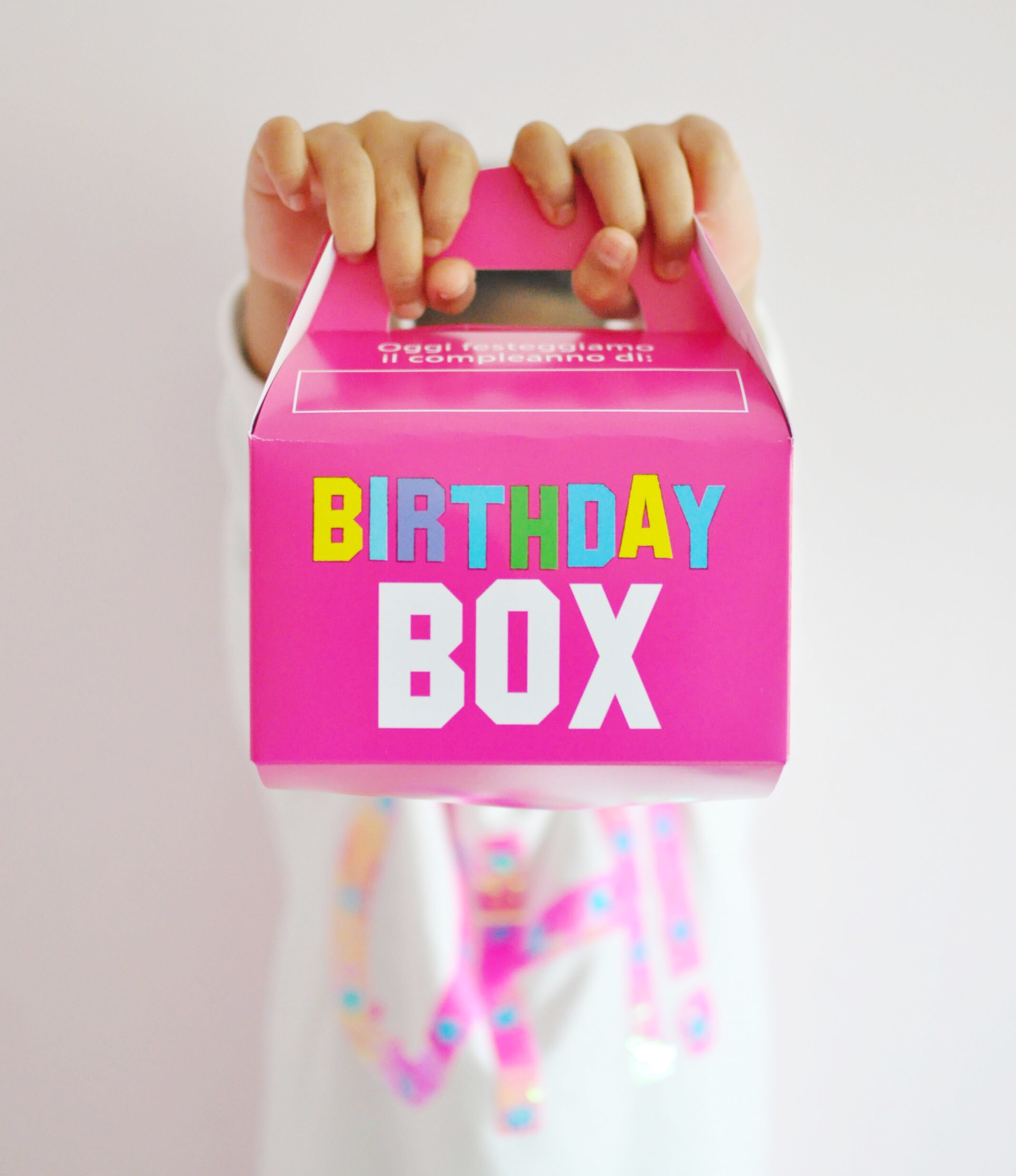 Birthday box – Festa in arrivo